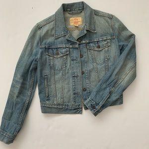 LEVI'S - cropped jean Jacket